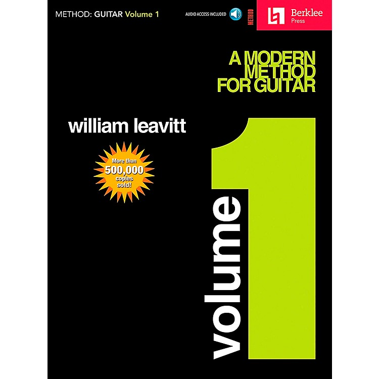 Hal Leonard Modern Method for Guitar Volume 1 (Book/CD)