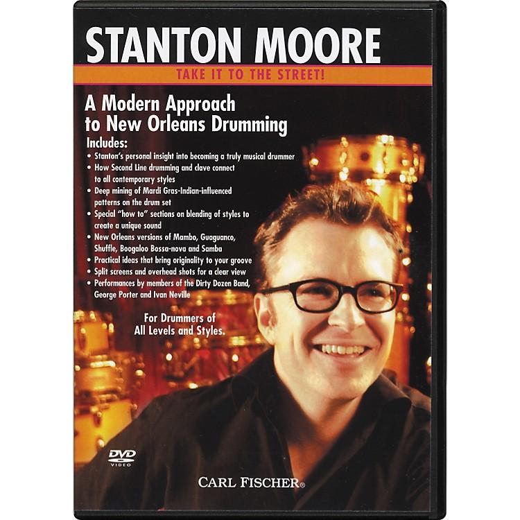 Carl FischerModern New Orleans Drumming with Stanton Moore (DVD)