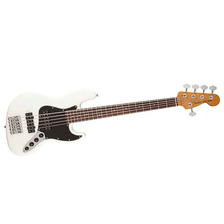 Fender Modern Player Jazz Bass V Satin Black Maple Fingerboard