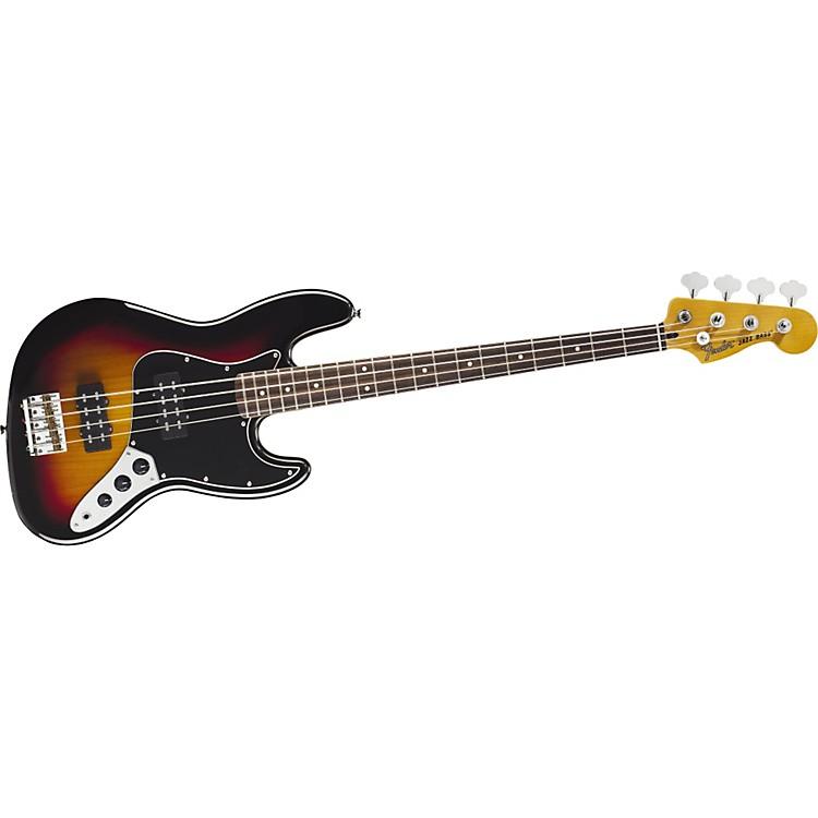 FenderModern Player Jazz Electric Bass Guitar3-Color SunburstRosewood Fretboard