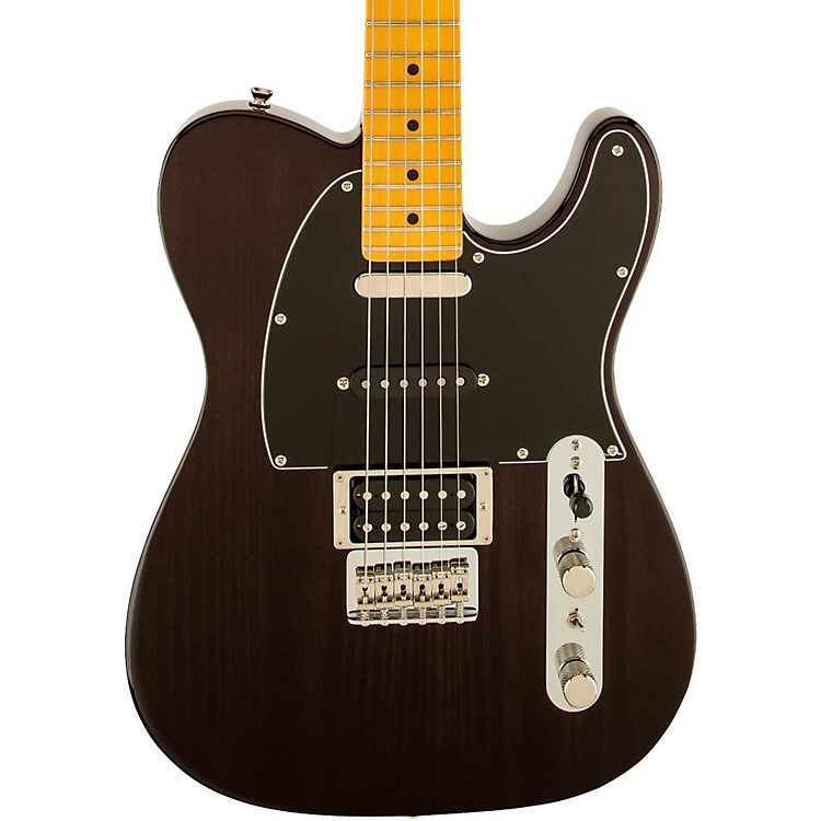 FenderModern Player Telecaster Plus Electric GuitarTransparent CharcoalMaple Fretboard