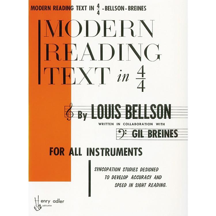AlfredModern Reading Text in 4/4