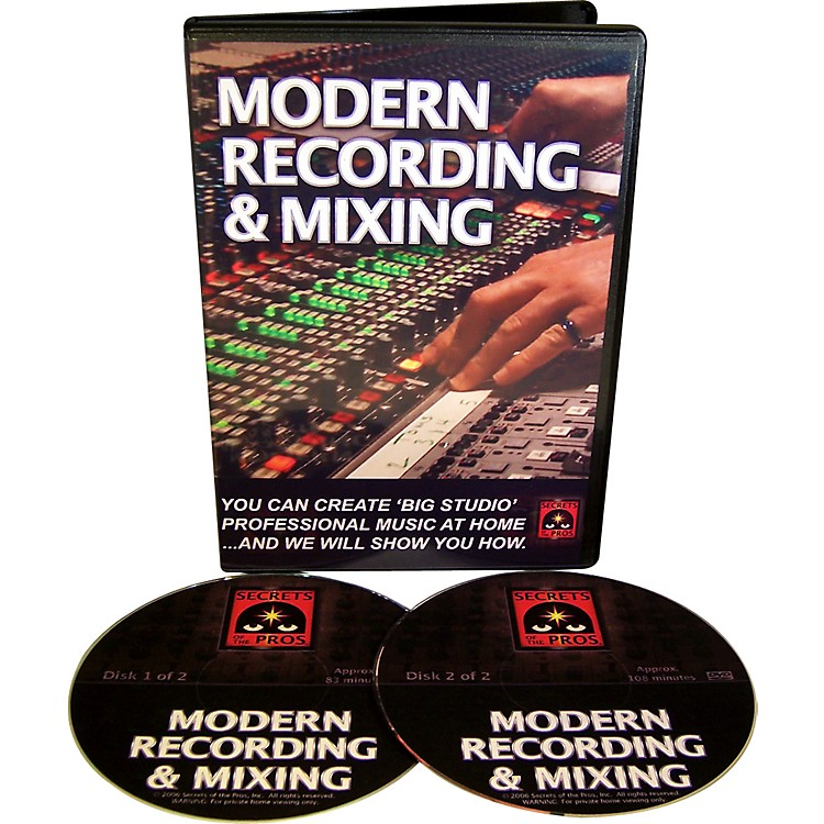 Secrets of the ProsModern Recording & Mixing (DVD-ROM)