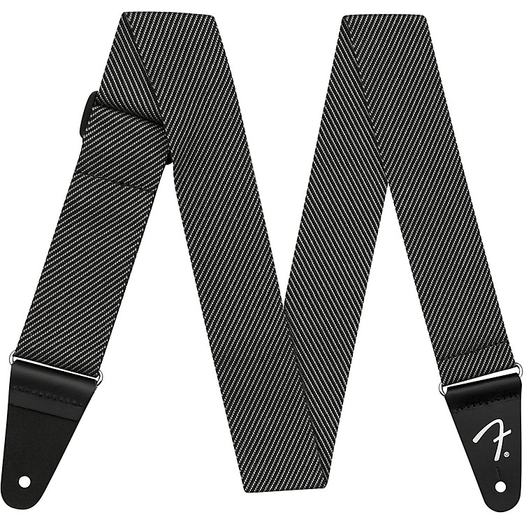 Fender Modern Tweed Strap Black and Grey