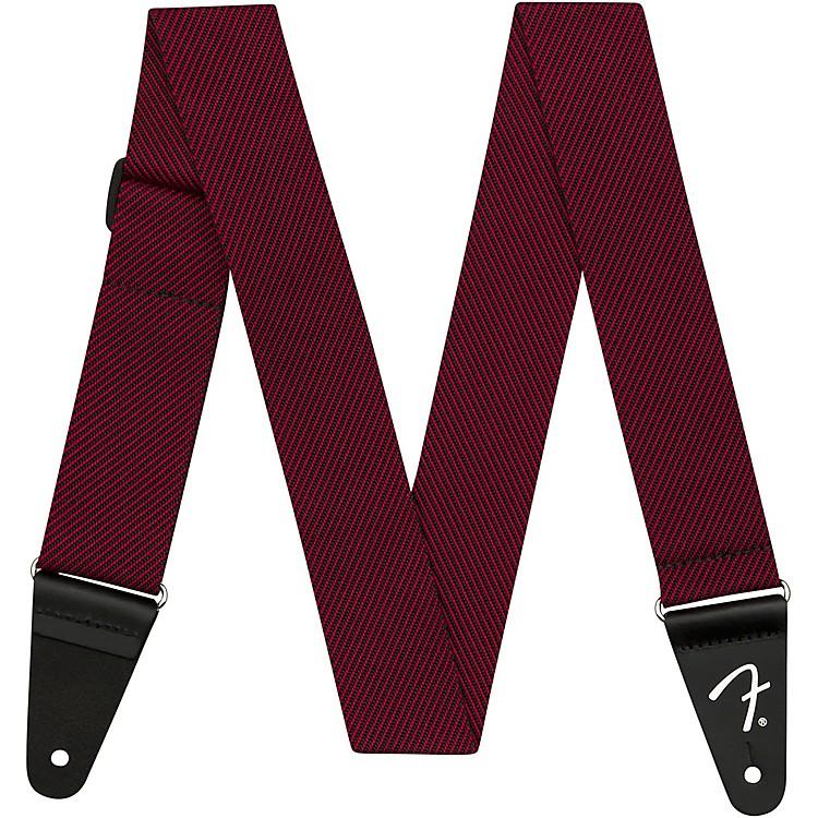 FenderModern Tweed StrapBlack and Red