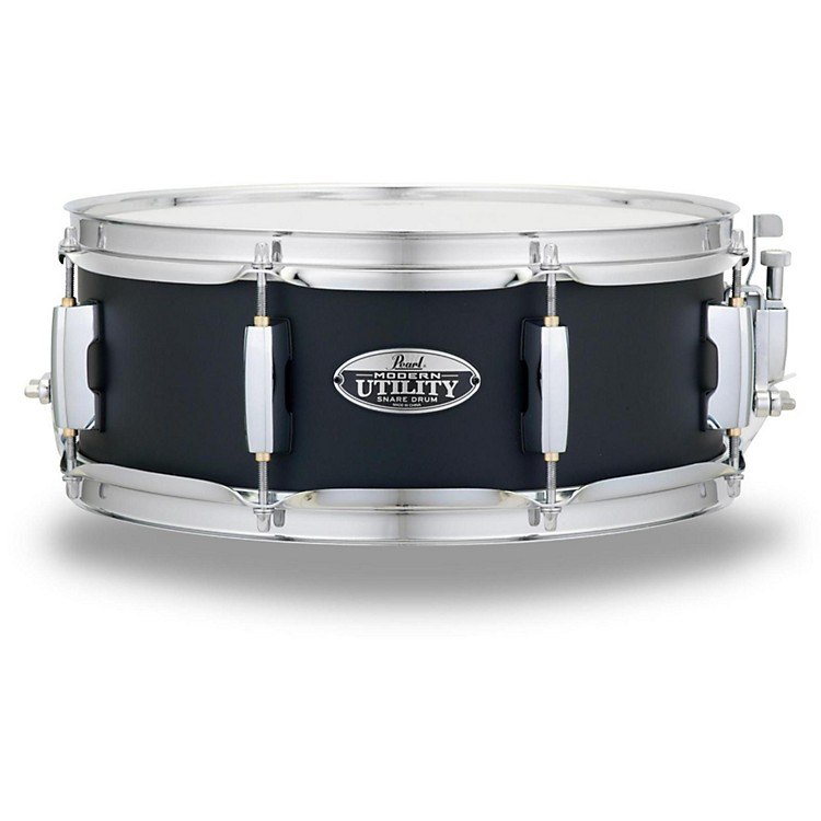 Pearl Modern Utility Maple Snare Drum 14 x 8 in., Satin Black 888366046333