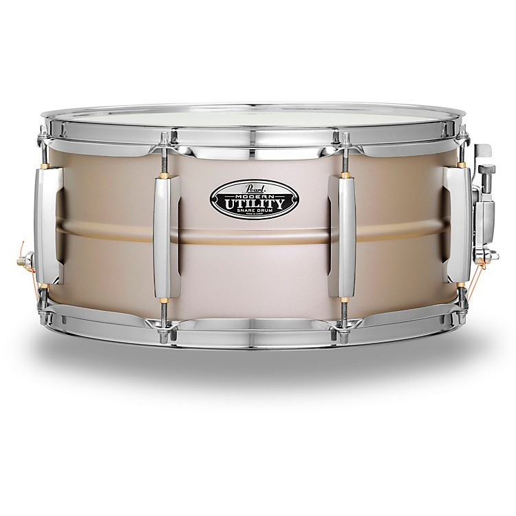 PearlModern Utility Steel Snare Drum14 x 6.5 in.