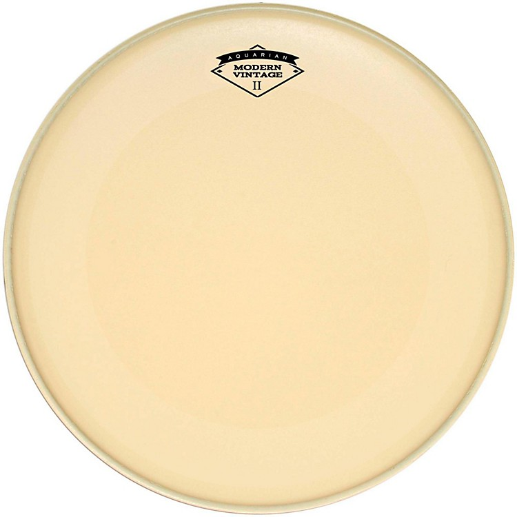 Aquarian Modern Vintage II Bass Drumhead with Super-Kick 22 in.