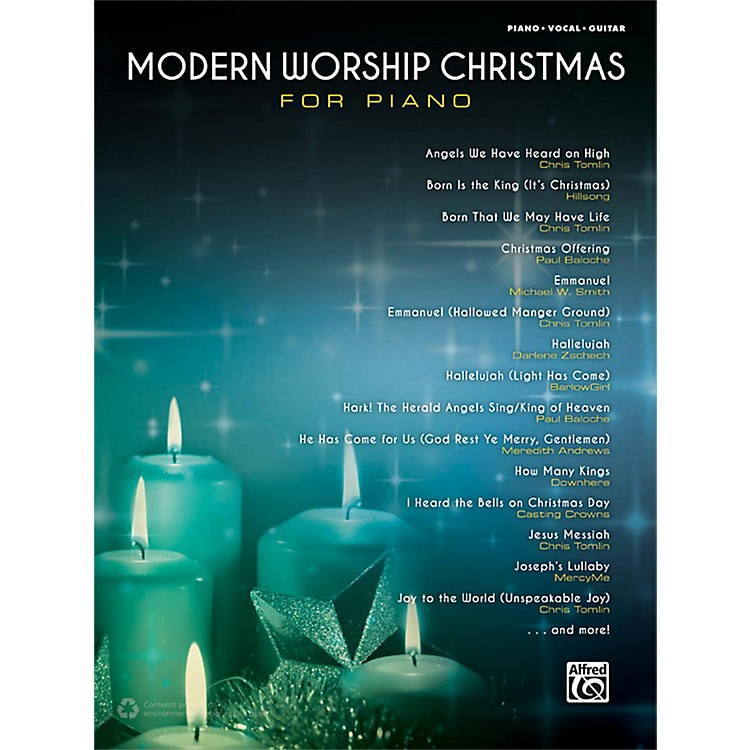 AlfredModern Worship Christmas for Piano Songbook P/V/G Edition