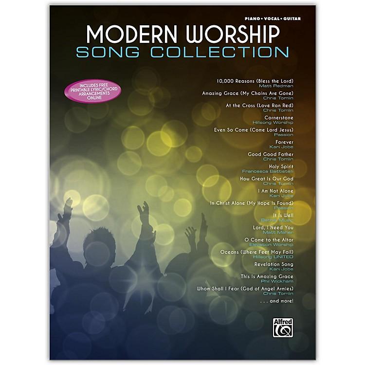AlfredModern Worship Song Collection Piano/Vocal/Guitar Songbook