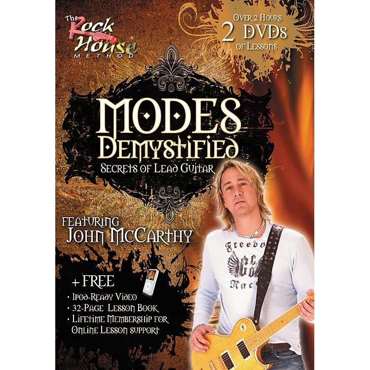 Rock HouseModes Demystified - Secrets of Lead Guitar Featuring John McCarthy (2-DVD Set)