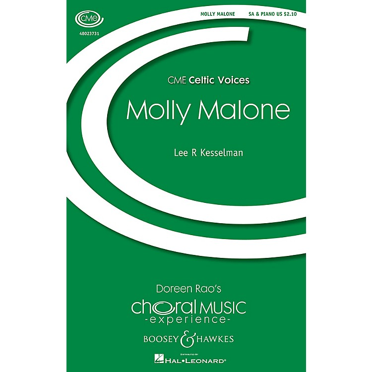 Boosey and HawkesMolly Malone (CME Celtic Voices) SA arranged by Lee Kesselman