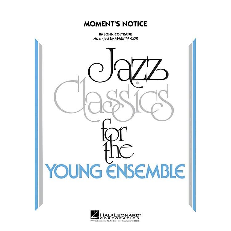 Hal LeonardMoment's Notice Jazz Band Level 3 Arranged by Mark Taylor