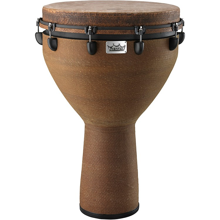 Remo Mondo Designer Series Key-Tuned Djembe Black Earth 27