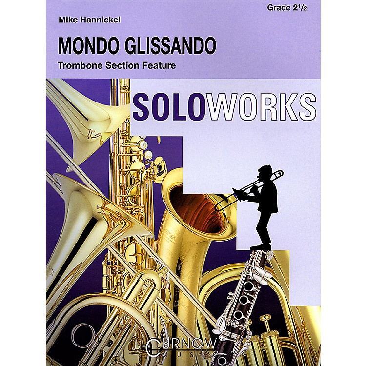 Curnow MusicMondo Glissando (Grade 2.5 - Score and Parts) Concert Band Level 2.5 Composed by Mike Hannickel