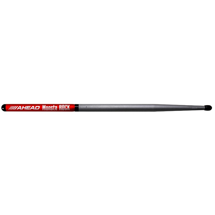 Ahead Monsta Rock Short Taper Sticks (Pair) Black Tip