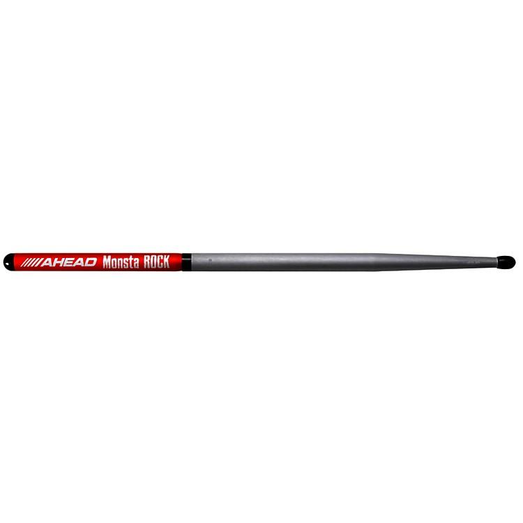 AheadMonsta Rock Short Taper Sticks (Pair)Black Tip