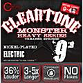 CleartoneMonster Black Series Super Light Electric Guitar Strings thumbnail