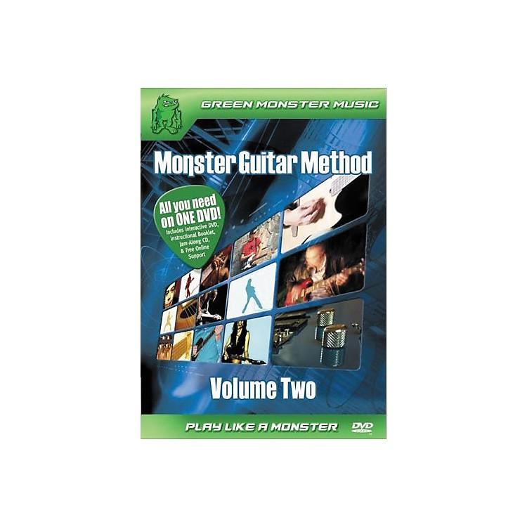 AlfredMonster Guitar Method Vol. 2 Dvd/Cd Set