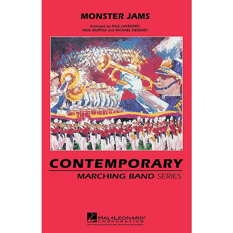 Hal LeonardMonster Jams Marching Band Level 3 Arranged by Michael Sweeney