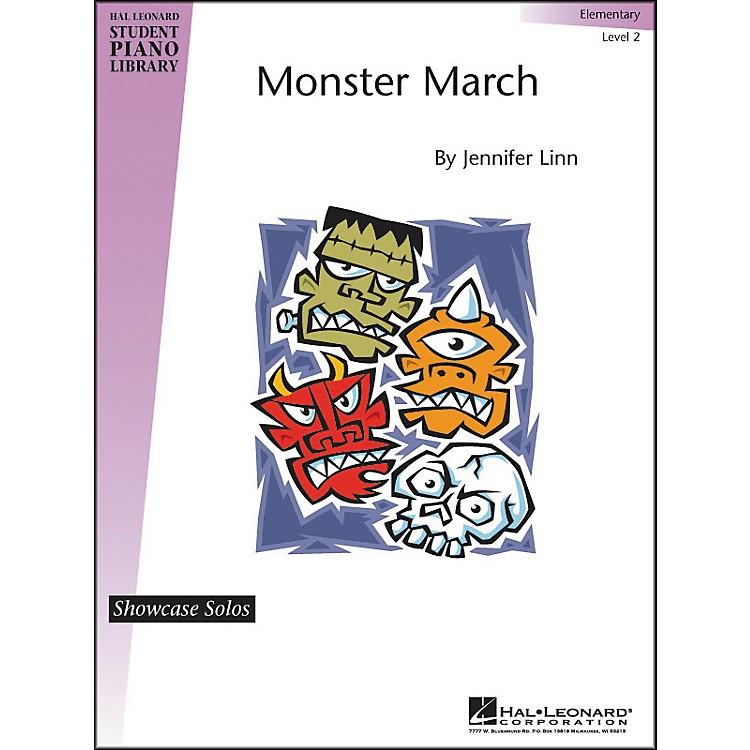 Hal LeonardMonster March Elementary Level 2 Showcase Solos Hal Leonard Student Piano Library
