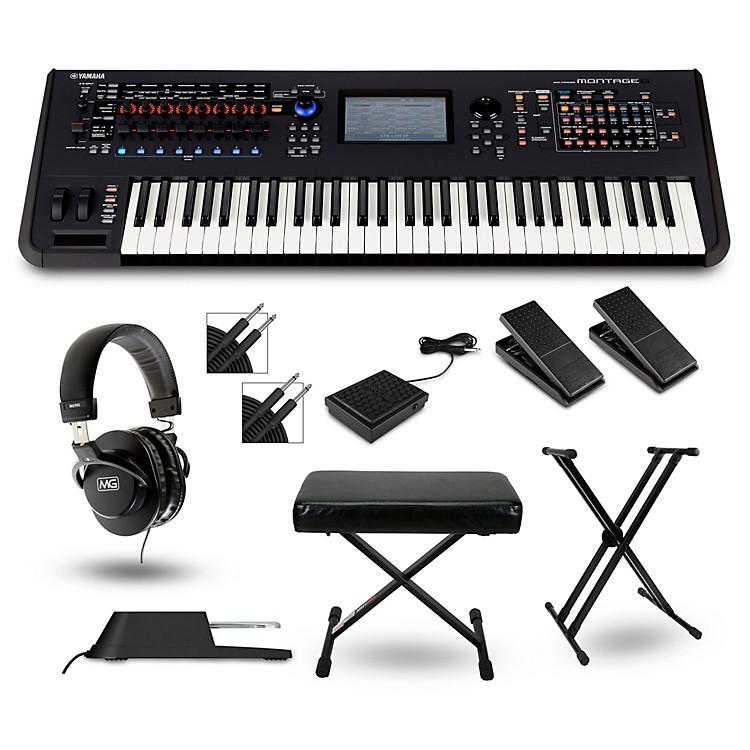 YamahaMontage 6 Synthesizer Package