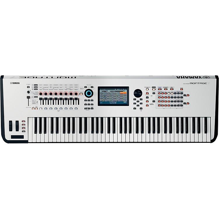 YamahaMontage 7 76-Key Flagship Synthesizer White