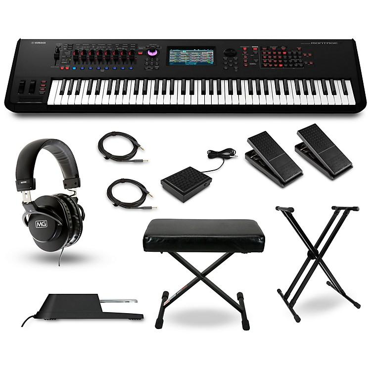 YamahaMontage 7 Synthesizer Package