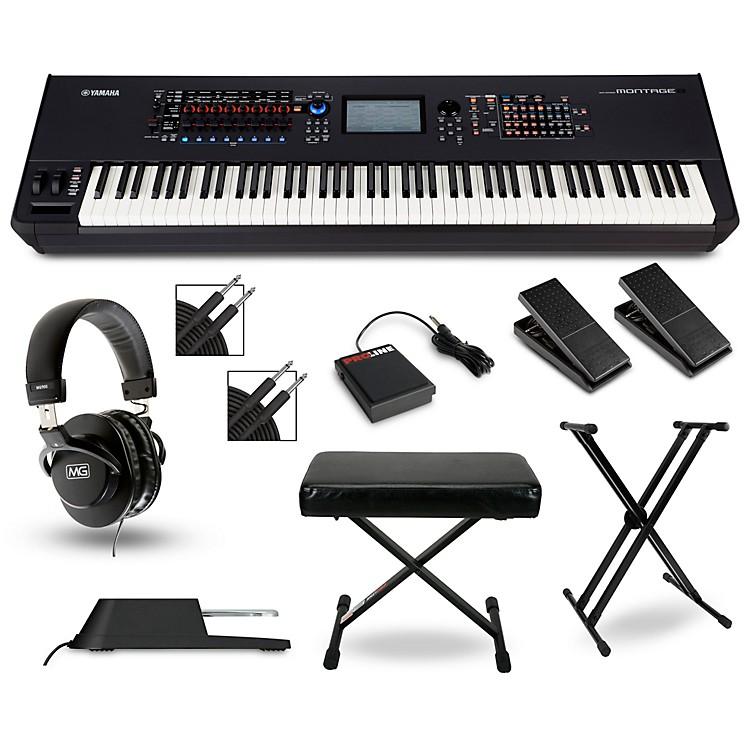 YamahaMontage 8 Synthesizer Package