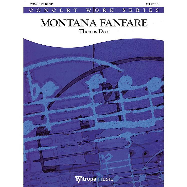 De Haske MusicMontana Fanfare Concert Band Gr 3 Full Score Concert Band