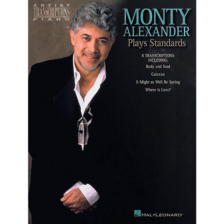 Hal LeonardMonty Alexander Plays Standards Artist Transcriptions Series Performed by Monty Alexander