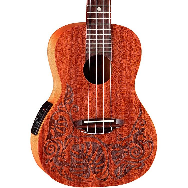 Luna GuitarsMo'o Concert Acoustic-Electric UkuleleLizard Mahogany