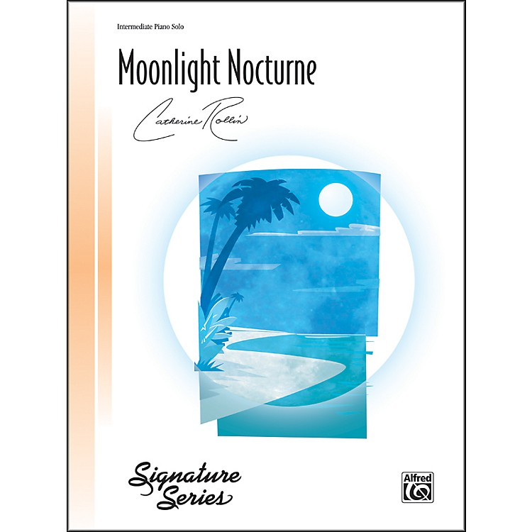 Alfred Moonlight Nocturne Intermediate Piano Sheet