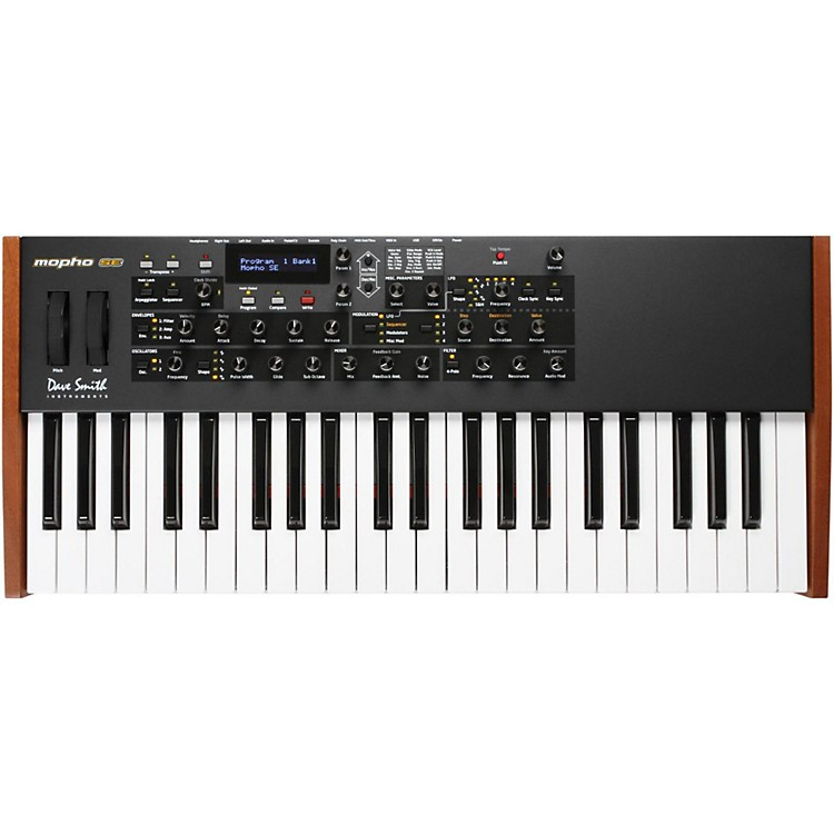 Dave Smith Instruments Mopho SE Monophonic Analog Keyboard Synthesizer  888365825397