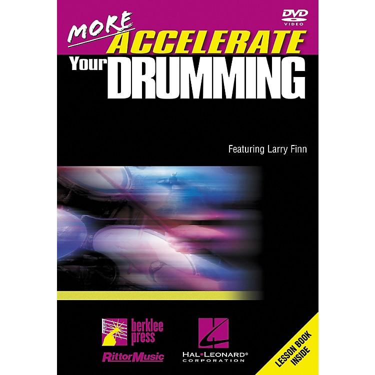 Hal LeonardMore Accelerate Your Drumming DVD