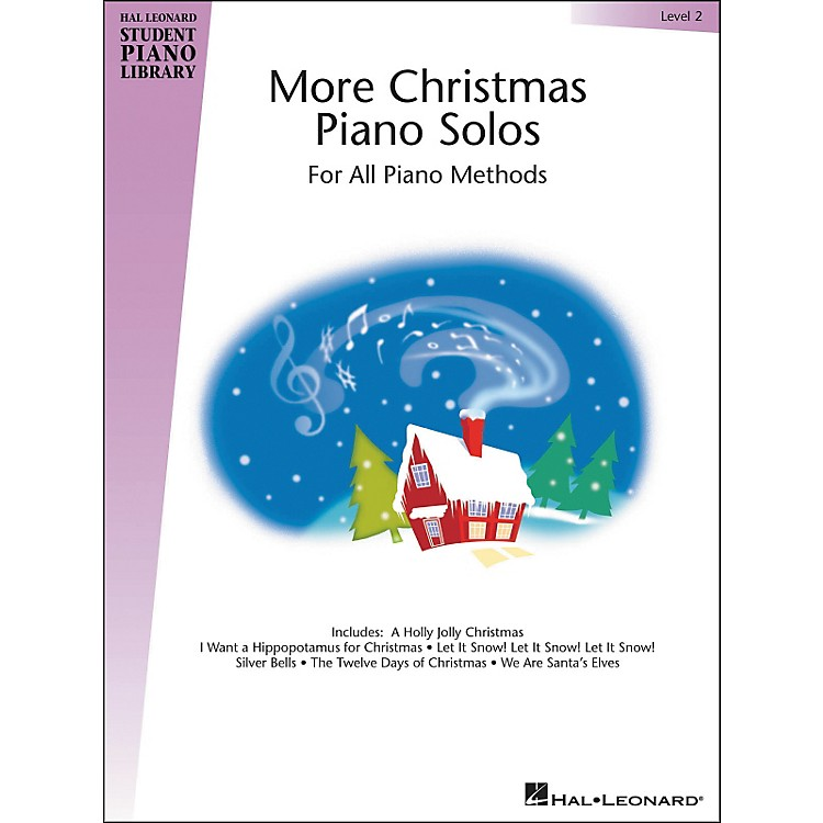 Hal LeonardMore Christmas Piano Solos Hal Leonard Student Piano Library Book 2