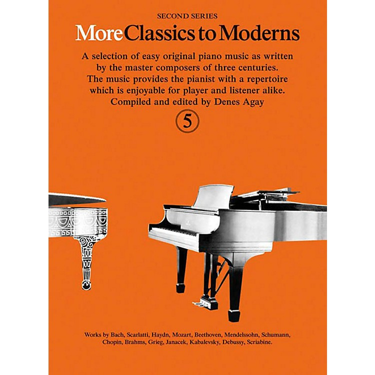 Music SalesMore Classics To Moderns - Second Series Book 5