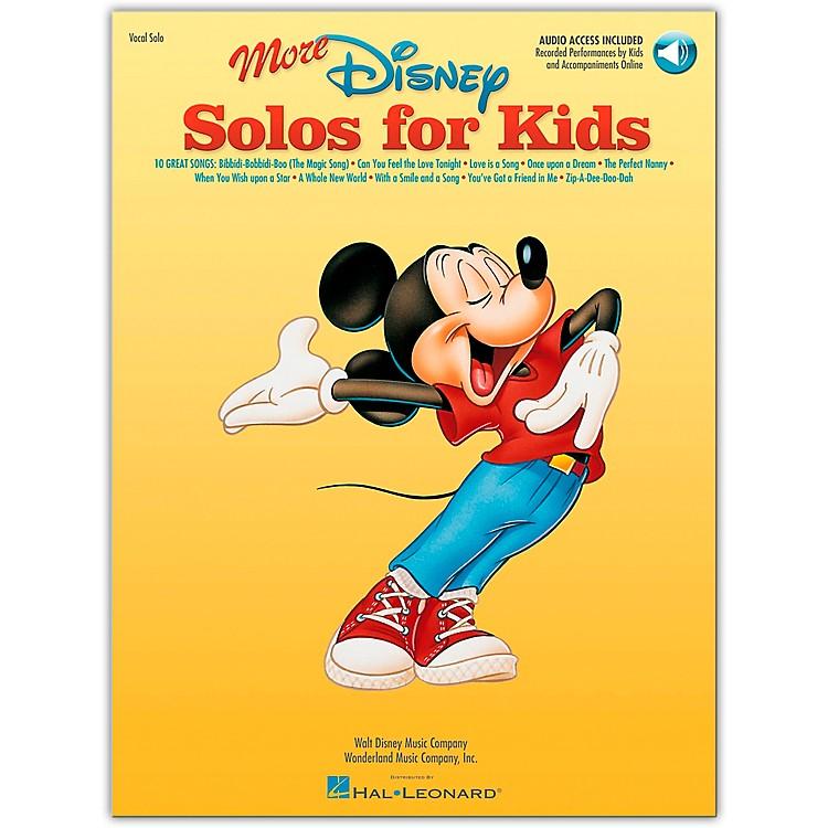 Hal LeonardMore Disney Solos for Kids Book/CD