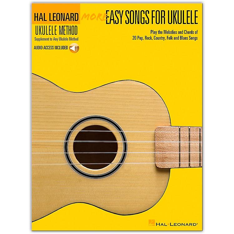 Hal LeonardMore Easy Songs For Ukulele Book/Online Audio