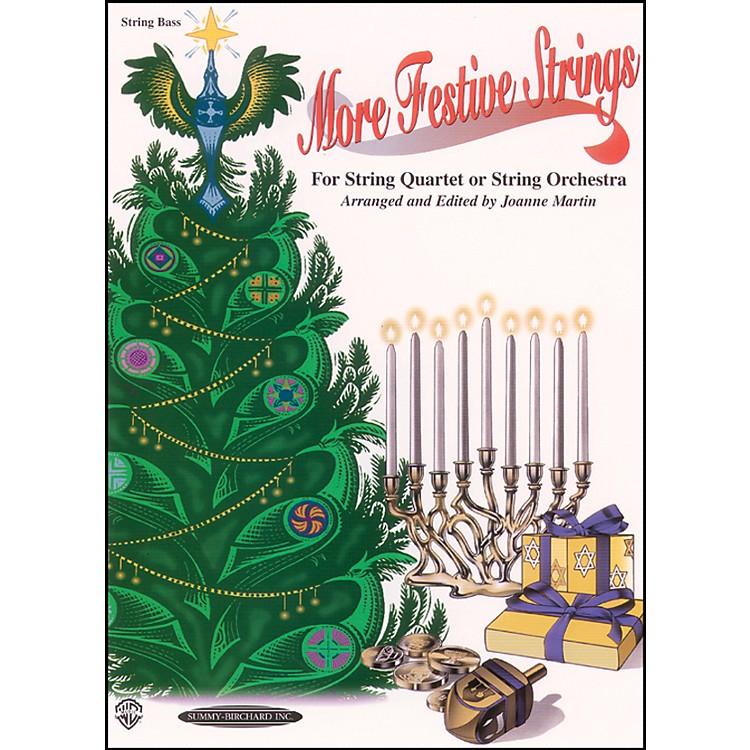 AlfredMore Festive Strings Bass (Book)
