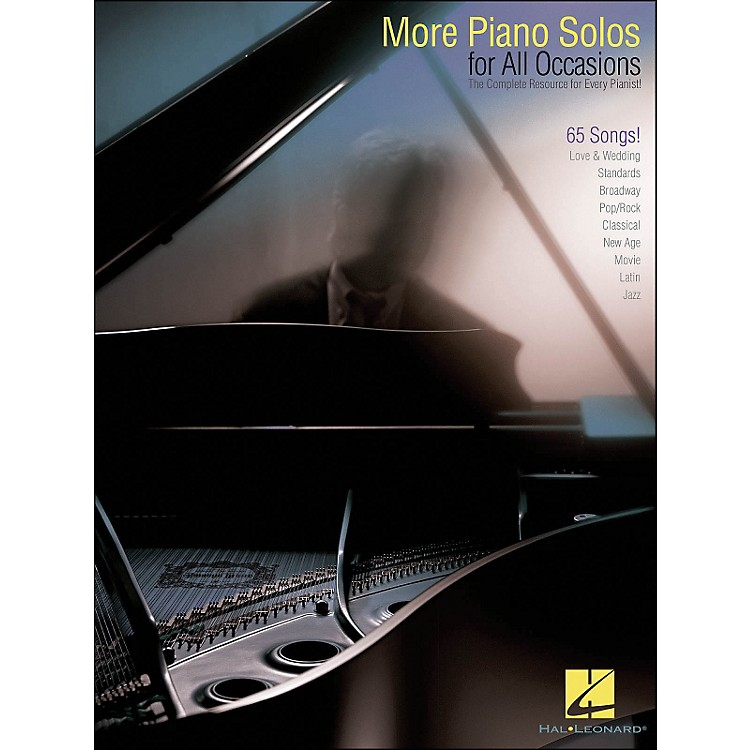 Hal LeonardMore Piano Solos for All Occasions