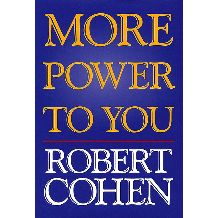 Applause Books More Power to You Applause Books Series Hardcover Written by Robert Cohen