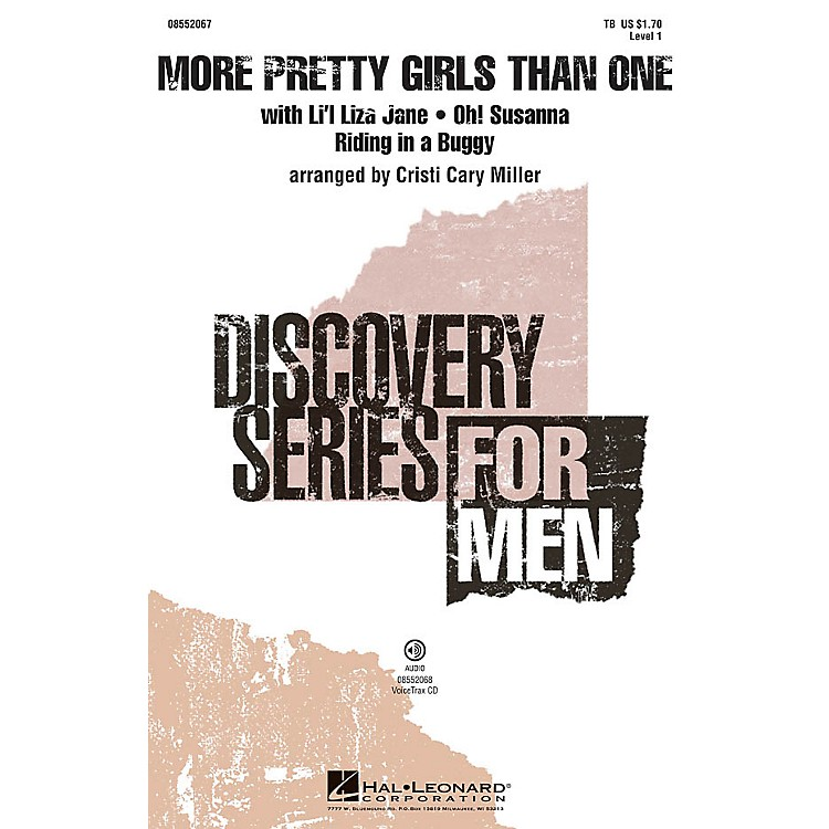 Hal LeonardMore Pretty Girls Than One (Medley) Discovery Level 1 VoiceTrax CD Arranged by Cristi Cary Miller