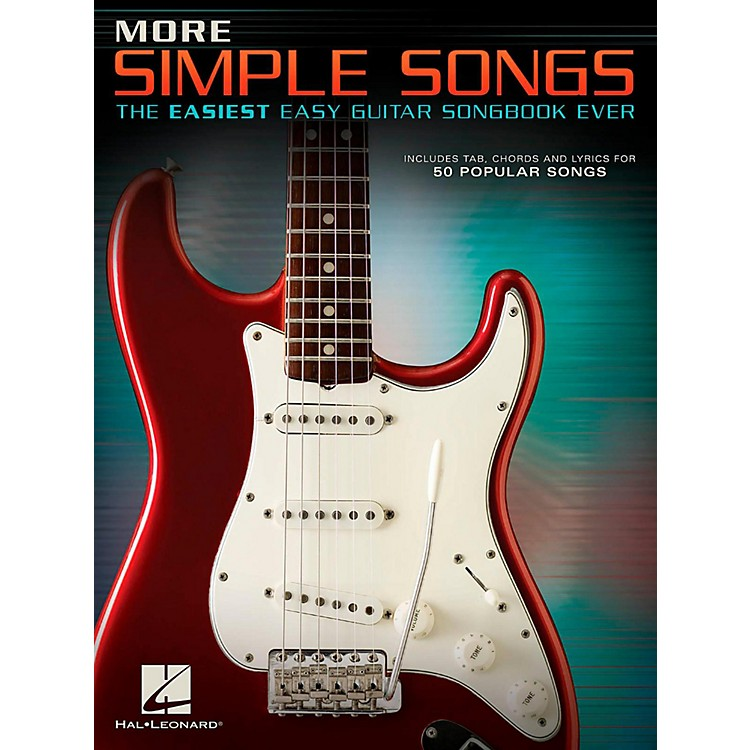 Hal Leonard More Simple Songs - The Easiest Easy Guitar Songbook Ever