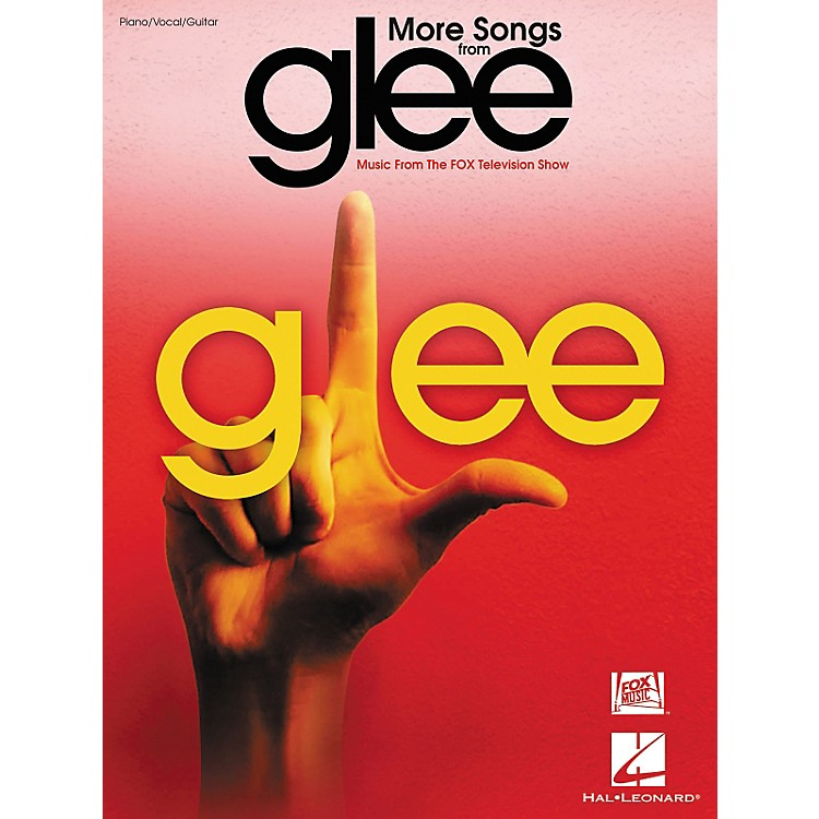 Hal Leonard More Songs From Glee - Music From The Fox Television Show arranged for piano, vocal, and guitar (P/V/G)