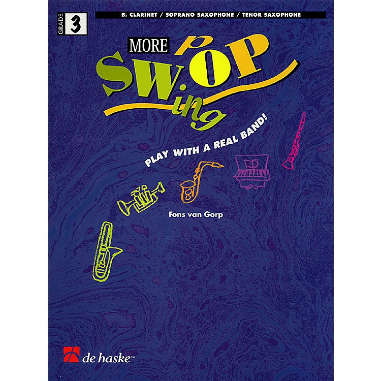 De Haske MusicMore Swing Pop (Play With a Real Band!) De Haske Play-Along Book Series