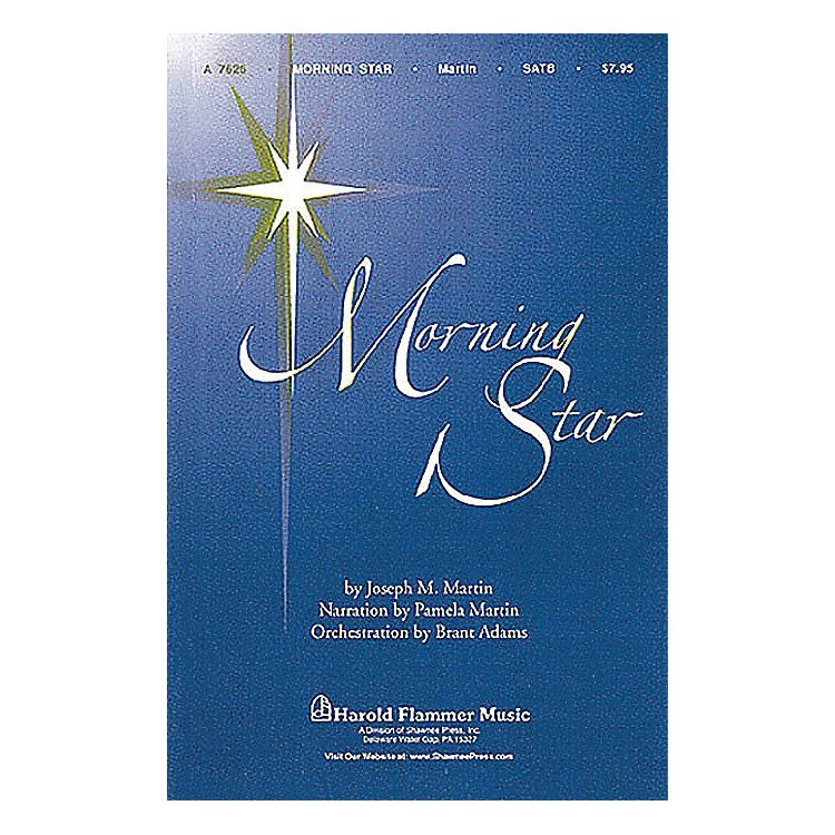Shawnee Press Morning Star SATB arranged by Brant Adams