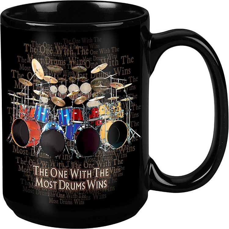 TabooMost Drums Win Black Mug 15 oz
