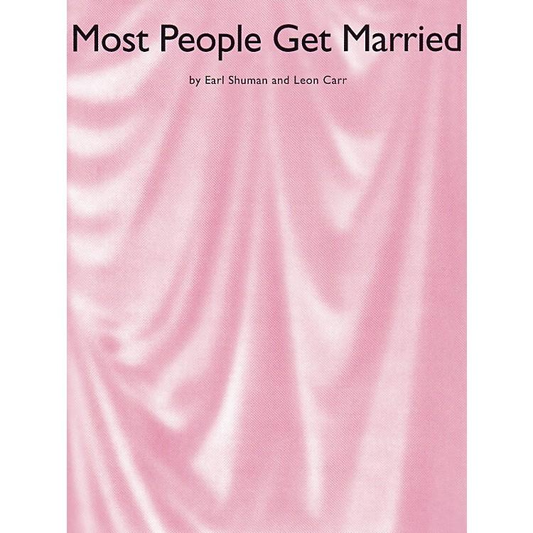 Music SalesMost People Get Married Music Sales America Series