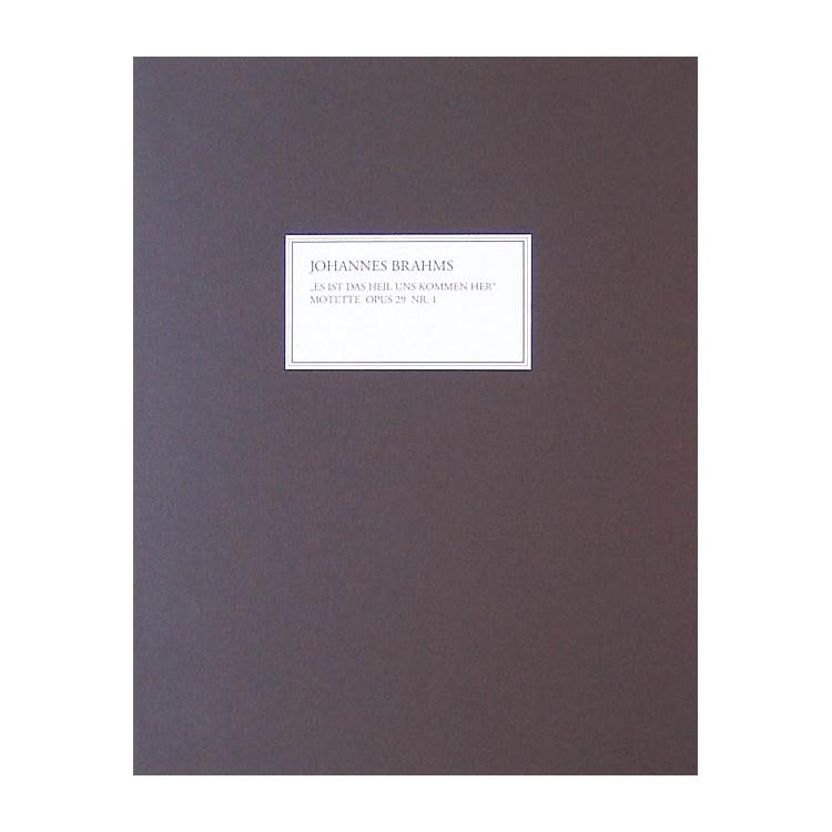 G. Henle VerlagMotet Op. 29, No. 1 (Facsimile) Henle Facsimile Series Softcover